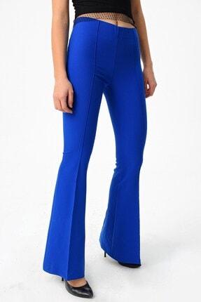 Jument Kadın Saks Mavisi Pantolon 2412 1
