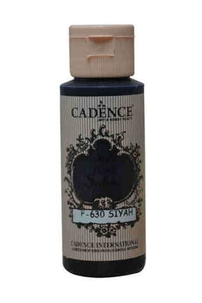 Cadence Boya Siyah Matt Fabric Kumaş Boyası 0