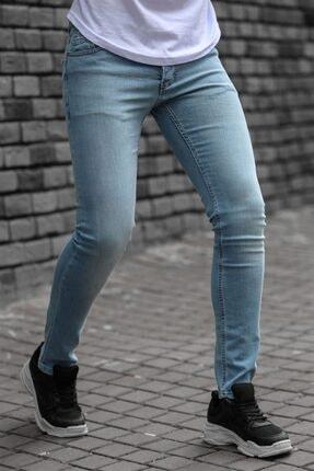 Madmext Erkek Mavi Jeans 035-2 0