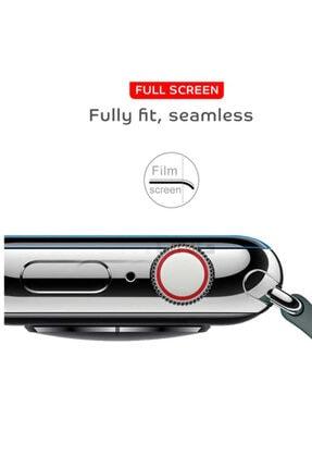 Zore Apple Watch 1 38mm Silikon Full Body Ekran Koruyucu 3