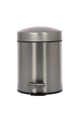 Cekinox Inox Pedallı Çöp Kovası Paslanmaz 3 Litre 0