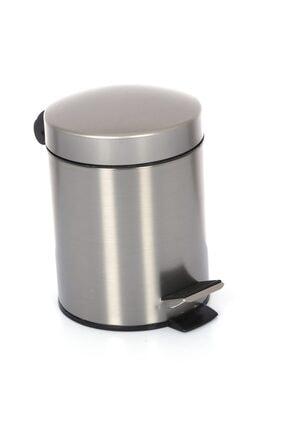 Cekinox Inox Pedallı Çöp Kovası Paslanmaz 3 Litre 1