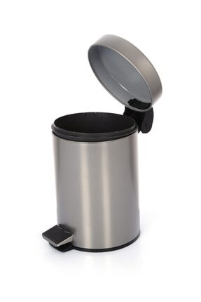 Cekinox Inox Pedallı Çöp Kovası Paslanmaz 3 Litre 2