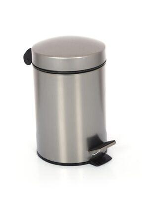 Cekinox Inox Pedallı Çöp Kovası Paslanmaz 5 Litre 1