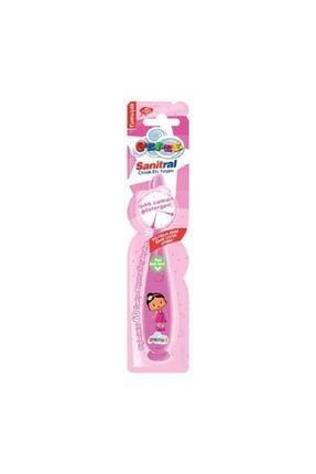 Pepe Işıklı Pembe Çocuk  Diş Fırçası 0