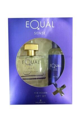 Equal Sense Kadın Edt 75 ml Kadın Parfüm + 150 ml Kofre Vücut Losyon 0