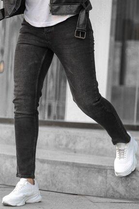 Madmext Erkek Siyah Slim Fit Jean 1