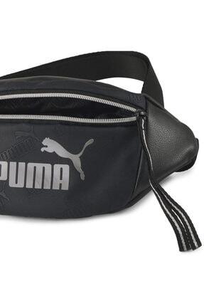 Puma Kadın Siyah Core Up Waistbag Spor Bel Çantası 07747801 3