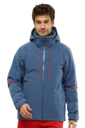 Salomon Erkek Mavi Edge Kayak Ceketi Tekstil Lc1396600 1