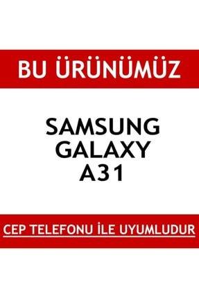 TeknoDuvar Samsung A31 360 Derece Şeffaf Silikon Kılıf Komple Koruma 1