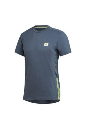 adidas M D2M MOTION TE Mavi Erkek T-Shirt 101118133 0