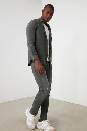TRENDYOL MAN Gri Erkek Skinny Jeans TMNAW21JE0818 2