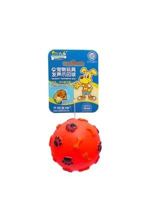 Mixpet Soleil Plastik Öten Köpek Oyun Topu 10 Cm 2