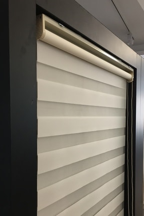 CLARISS HOME Krem Etek Modelli Zebra Perde 3