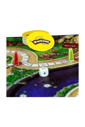 Parkour Parkur 1. Etap Aile ve Eğlence Kutu Oyunu 4