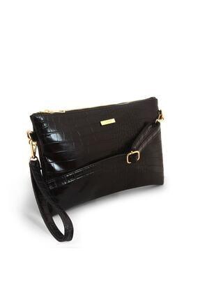 Coquet Kadın Siyah Pearly Clutch Çanta-19g3u13n001 1