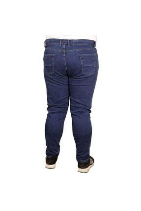 Modexl Büyük Beden Erkek Pantolon Kot 20900 Mavi 1