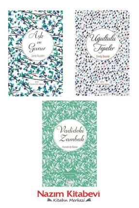 Koridor Yayıncılık Aşk Ve Gurur-jane Austen & Uğultulu Tepeler-emily Bronte & Vadideki Zambak-balzac Bez Ciltli 0