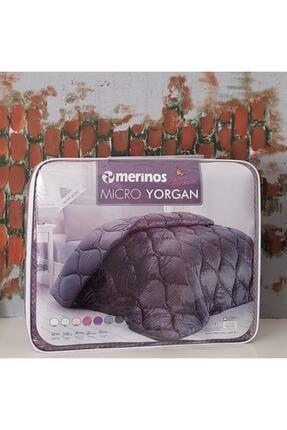 Merinos Fashion Micro Yorgan Çift Kişilik- Mürdüm- 195x215 1