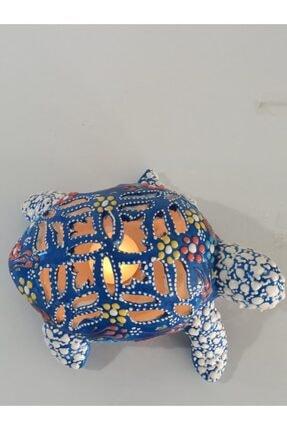 Çini Kaplumbağa Masa Lambası 1