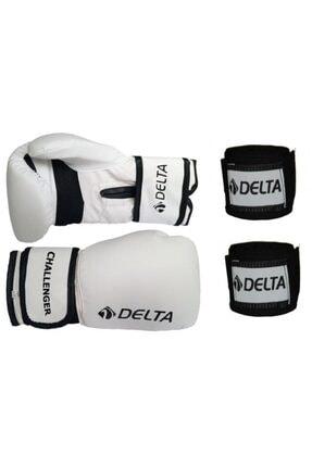 Delta Challenger Dura-strong Boks Eldiveni ve Boks El Bandajı Seti 0