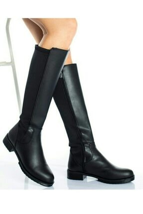 moss moda Kadın Uzun Çizme 1