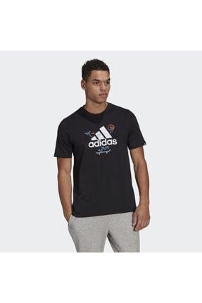 adidas Gl3709 M Crtn Logo Erkek Tişört 0