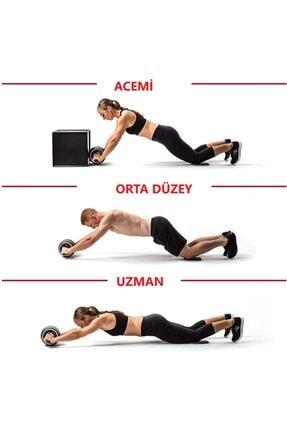 Nivagatore Carver Fitness Vücut Şekillendirici Egzersiz Karın El Ayak Direnç Tekerleği Yeşil 1