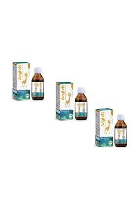 HEKİM İLAÇ Argivit Multivitamin 150 ml Şurup 3 ADET 0