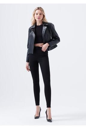 Terrenova Victoria E.x.t.r.a Black Jeans (NORMAL YÜKSEK) Pantolon Solmaz Siyah Jeans(TOPARLAYICI) 1