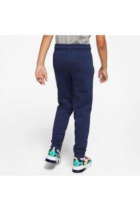 Nike Nıke Nsw Club + Hbr Pant Erkek Çocuk Eşofman Altı Cj7863-410 4