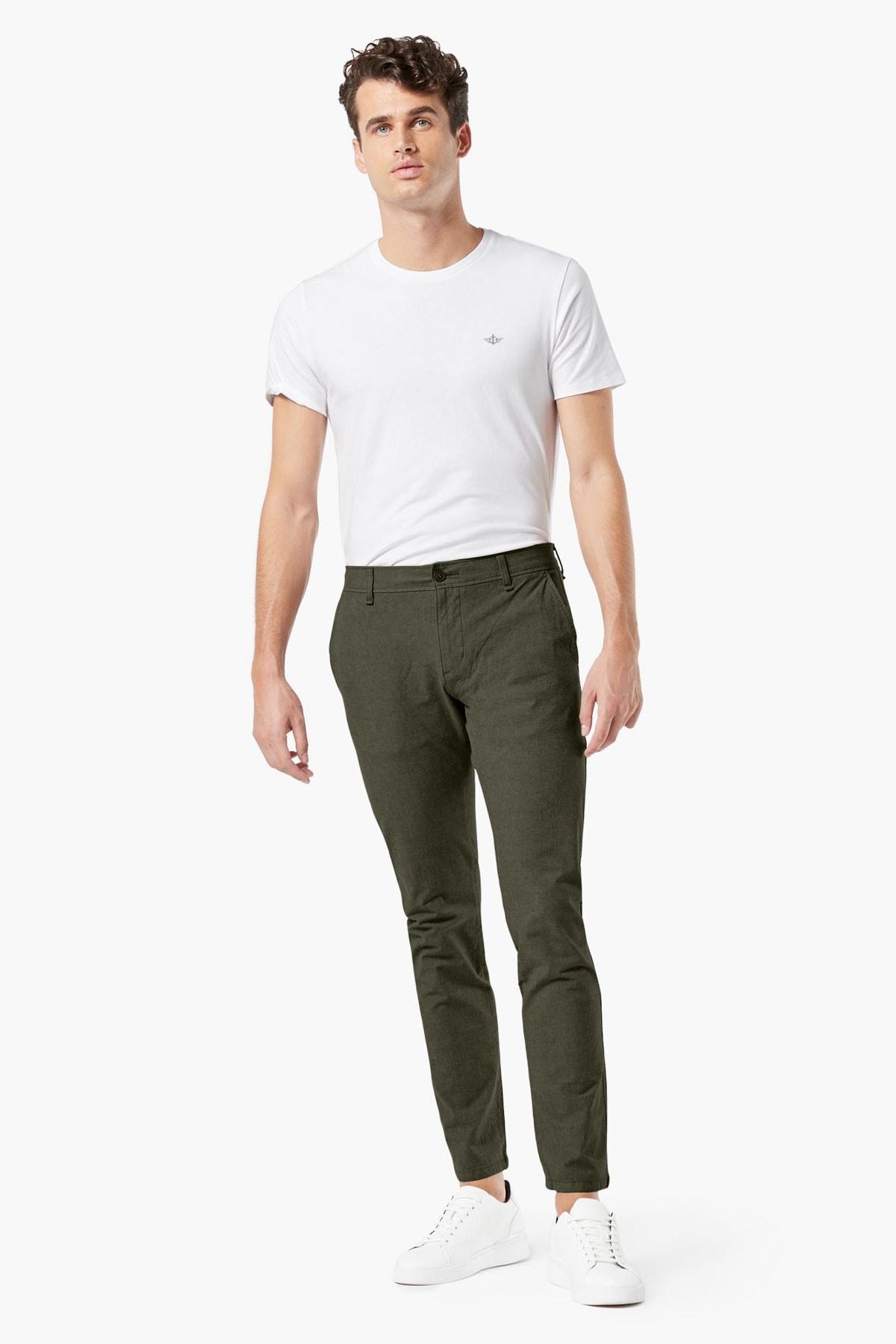 Erkek Smart 360 Flex Ultimate Chino Pantolon, Skinny Fit 7576300090