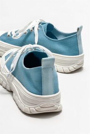 Elle Kadın Mavi Spor Ayakkabı 3