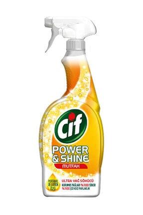 Cif Power & Shine Mutfak Sprey Temizleyici 750 ml 3