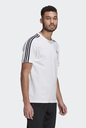 adidas T-shirt Erkek T-shirt Whıte/black Gl3733 2