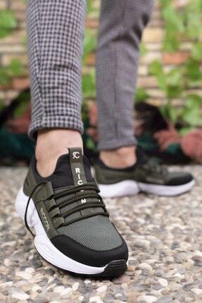 Riccon Haki Siyah Unisex Sneaker 0012072 2