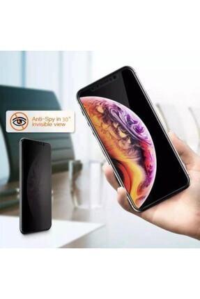 GALIO Iphone Xs Full Hayalet Kırılmaz Privacy Cam 3