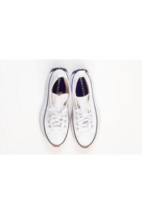 Converse Erkek Beyaz Kalın Tabanlı Sneakers 4