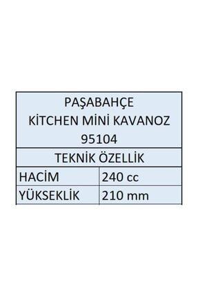Paşabahçe 95104 Kitchen Mini Baharatlık Kavanoz 240 Cc - 8 Adet 2