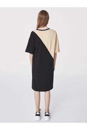 Twist Slogan Baskılı Sweat Elbise 2