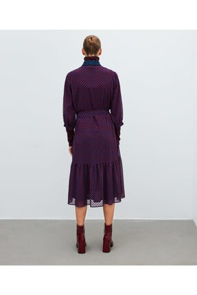 İpekyol Puantiye Desen Tül Elbise 3
