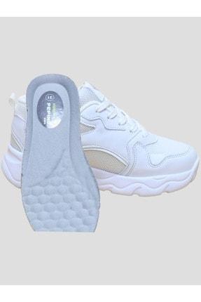 Nokta Kız Çocuk Bağcıklı Sneakers Ayakkabı 4
