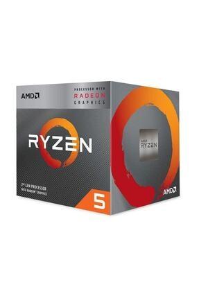 Amd Ryzen 5 3400G 3.7GHz AM4 Soket 6MB Önbellek 65W 12nm İşlemci YD3400C5FHBOX 0