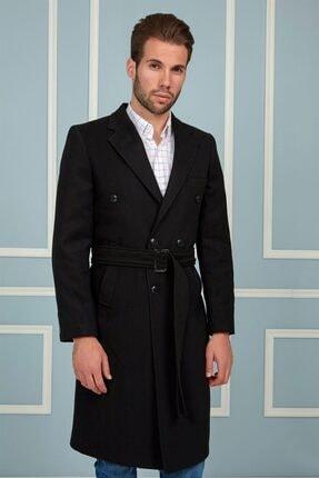 Dewberry Plt8382 Erkek Palto-siyah 1