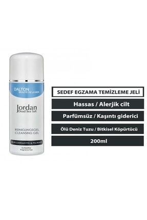 DALTON MARİNE COSMETİCS Jordan Dead Sea Salt Atopik Dermatit Sedef Egzama Temizleme Jeli 0