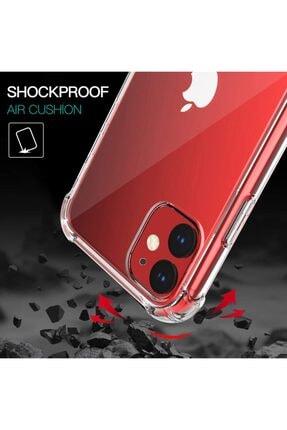 coverest Apple Iphone 11 6.1'' Ince Şeffaf Airbag Anti Şok Silikon Kılıf 2