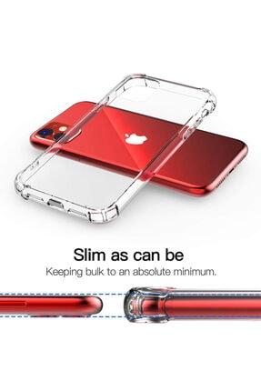 coverest Apple Iphone 11 6.1'' Ince Şeffaf Airbag Anti Şok Silikon Kılıf 3