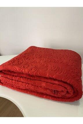 Kırmızı Embos Çift Kişilik Battaniye çift kişilik kırmızı battaniye