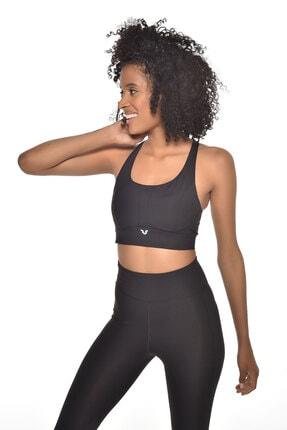 bilcee Siyah Kadın Destekli Sporcu Sütyeni-bra Gw-9201 2