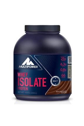 Multipower Whey Isolate Çikolata 2000 Gr 0
